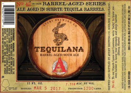 Avery Brewing Tequilana