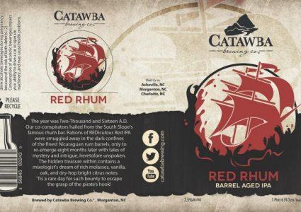 Catawba Brewing - Red Rhum (Barrel Aged IPA)