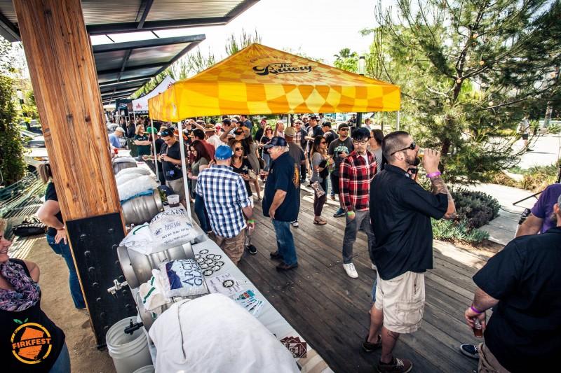 Beer Geek Tiki Island at This Year's Firkfest in Anaheim