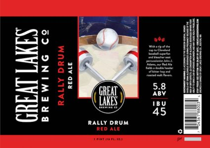Great Lakes Rally Drum Can Label