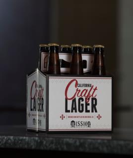 Mission Brewery - Craft Lager (6 Pack)