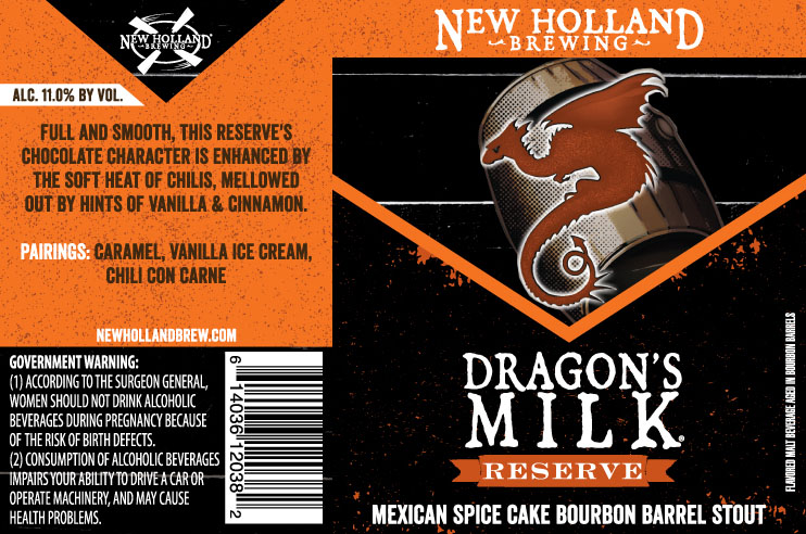 New Holland Dragons Milk Reserve Mexican Spice Cake