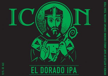 Saint Arnold Icon Green Eldorado IPA