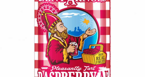 Saint Arnold - Raspberry AF (12oz can)