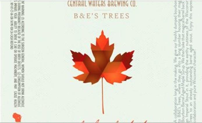 Central Waters Maple Bourbon Stout