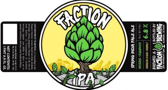 Faction Brewing Spring IPA