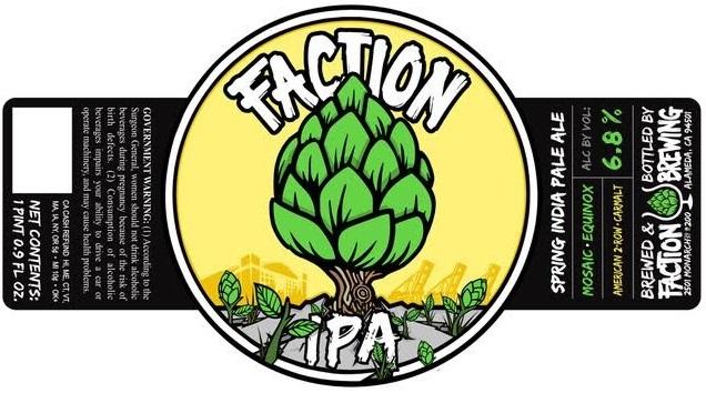 Faction Brewing Spring IPA