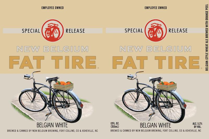 New Belgium Fat Tire Belgian White Ale
