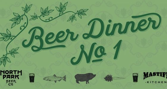 North Park Beer Co. - Beer Dinner No. 1