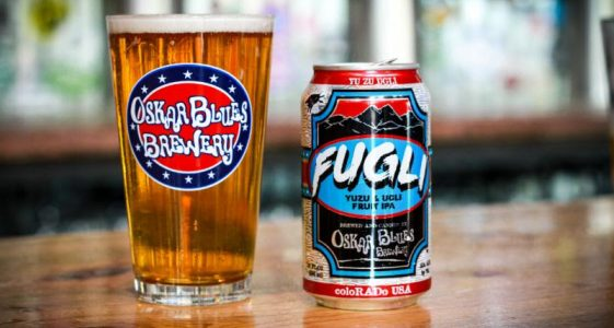 Oskar Blues - Fugli Yuzu & Ugli Fruit IPA
