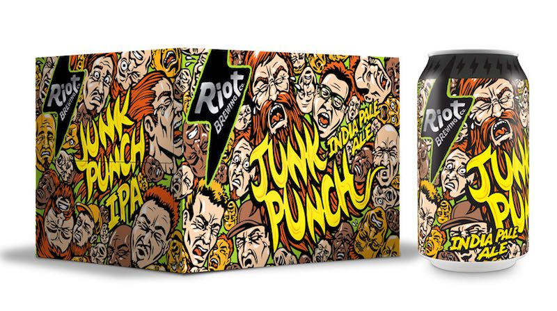Riot Brewing Junk Punch IPA