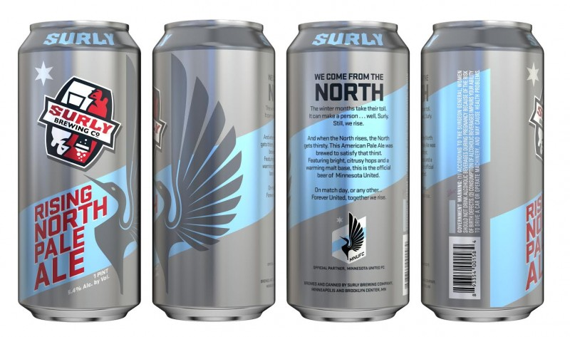 Surly Brewing - Minnesota United - Rising North Pale Ale