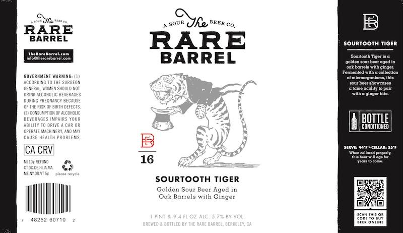 The Rare Barrel Sour Tooth Tiger