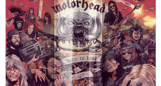 Amplified Motorhead Born to Lose IPA