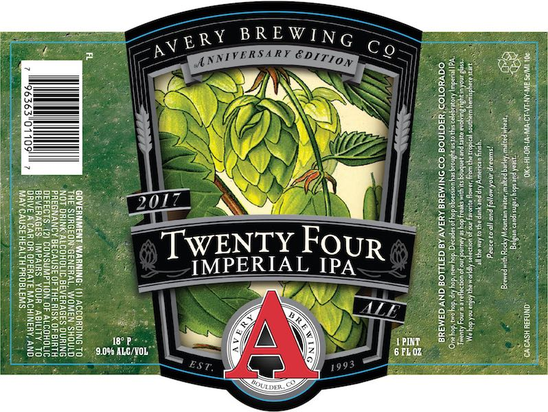 Avery Twenty Four Imperial IPA