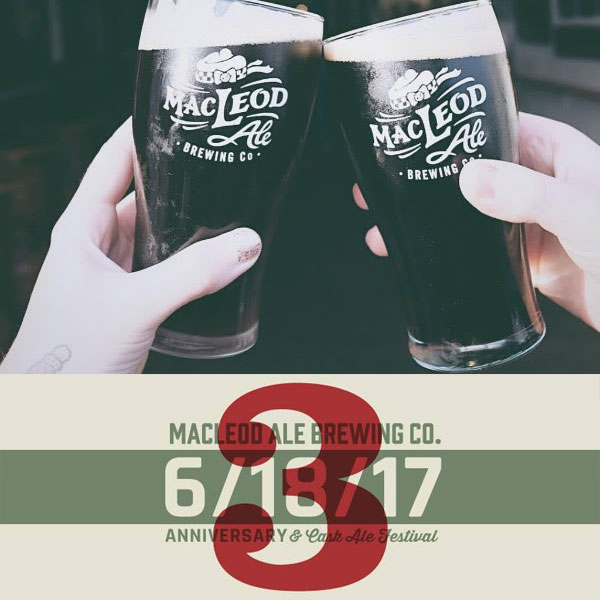 Macleod Ale Brewing - 3rd Anniversary