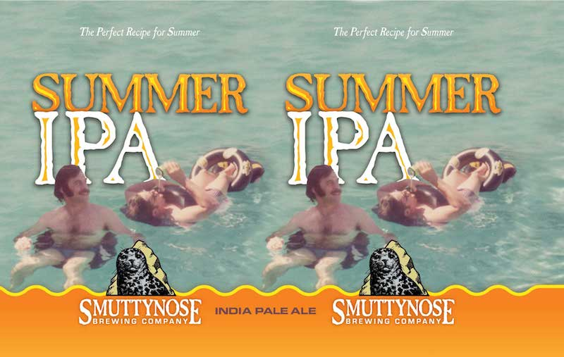 Smuttynose Summer IPA Label