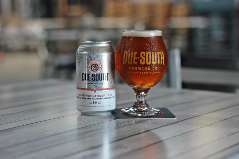 Due South Category 5 Grapefruit IPA