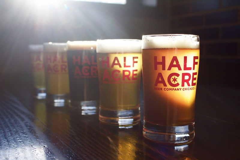 Half Acre Beer Glasses