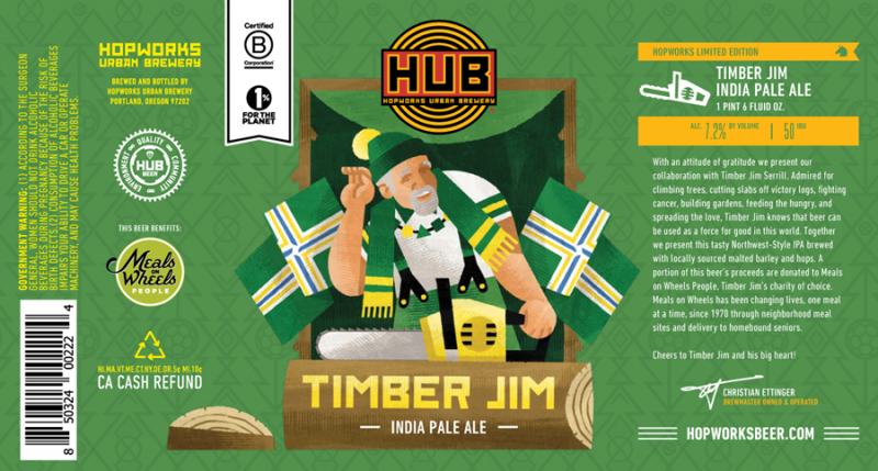 Hopworks Timber Jim IPA