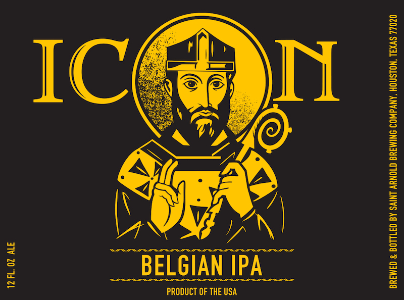 Saint Arnold Icon Gold Belgian IPA