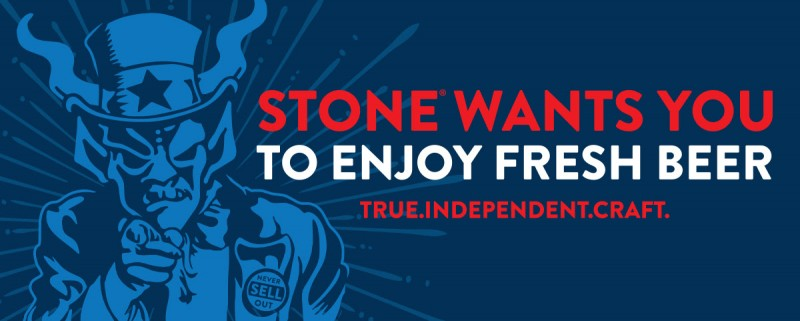Stone Brewing True Independent Craft