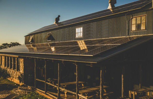 Jester King Brewery - Solar Panels