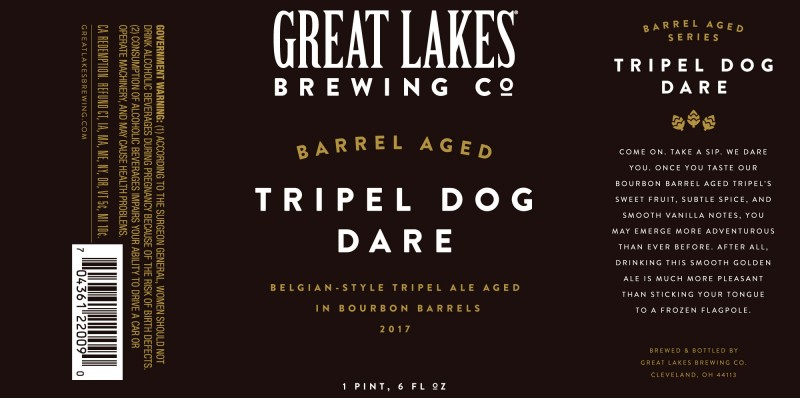 2017 Great Lakes BA Tripel Dog Dare