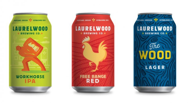 Laurelwood Brewing - Cans 2017