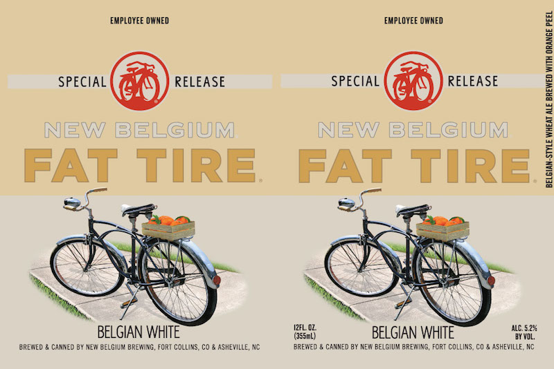 New Belgium Fat Tired Belgian White