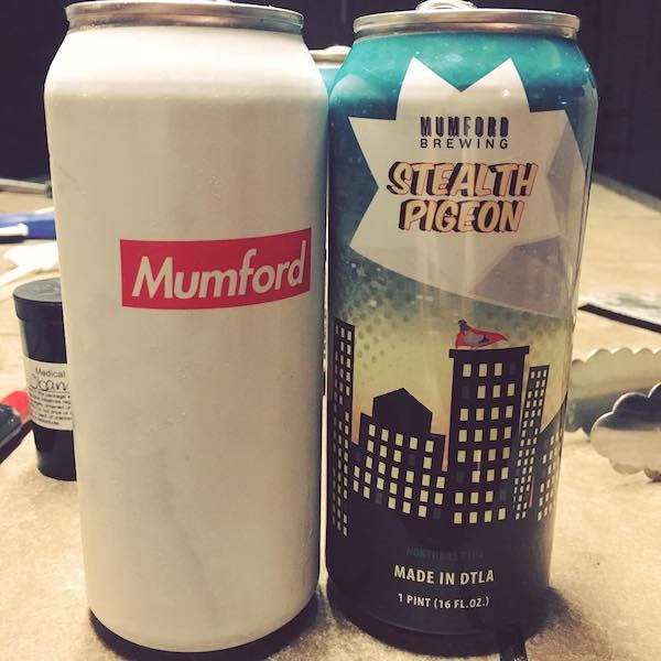 Mumford Brewing Cans