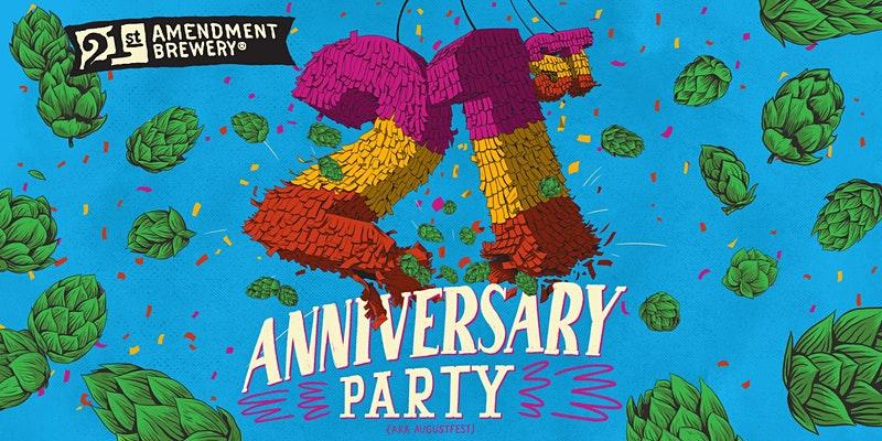 21st Amendment Brewery Celebrates 21st Anniversary thumbnail