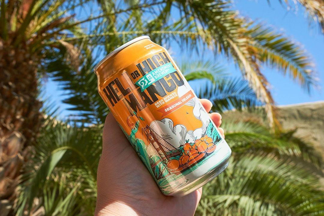 21st Amendment Brewery Hell or High Mango Returns! thumbnail