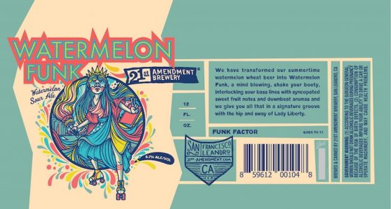 21st Amendment Watermelon Funk
