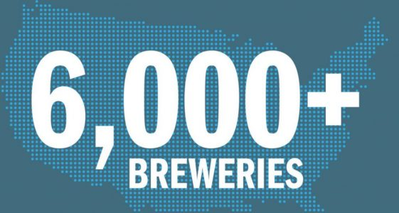 6000 Breweries