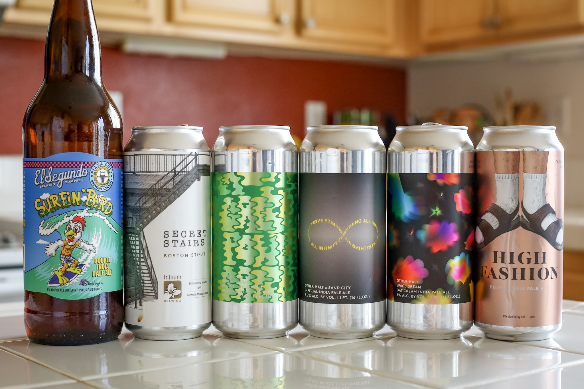 Gose, IPA, and Hazy IPA