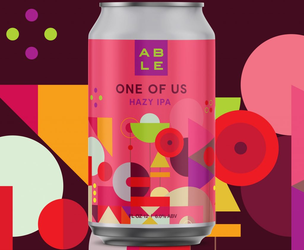Able Brewery One of Us Hazy IPA
