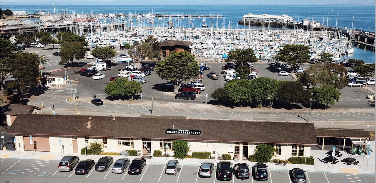 Aerial View of New Dust Bowl Tap House Location in Monterey
