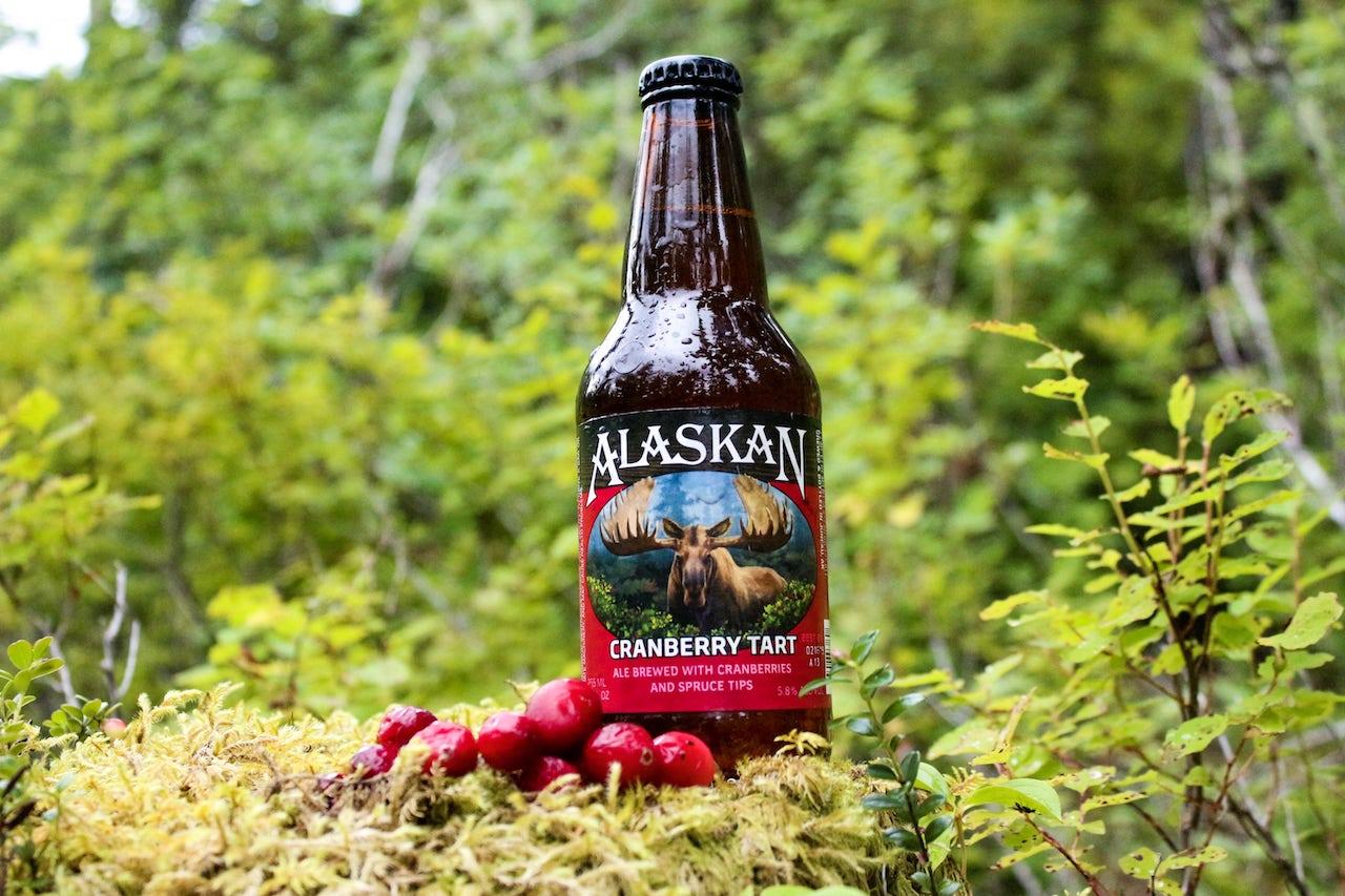 Alaskan Cranberry Tart