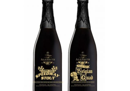 AleSmith Barrel Aged Speedway and Belgian Ale