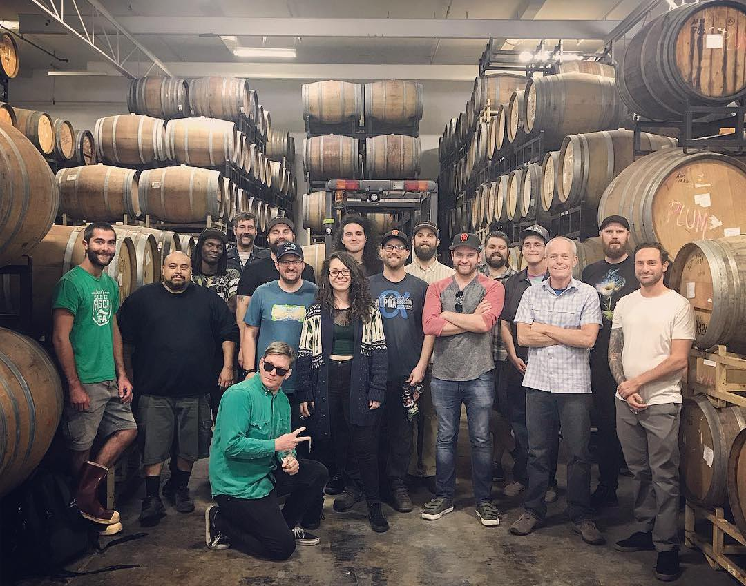 Almanac Beer Co. Group Picture