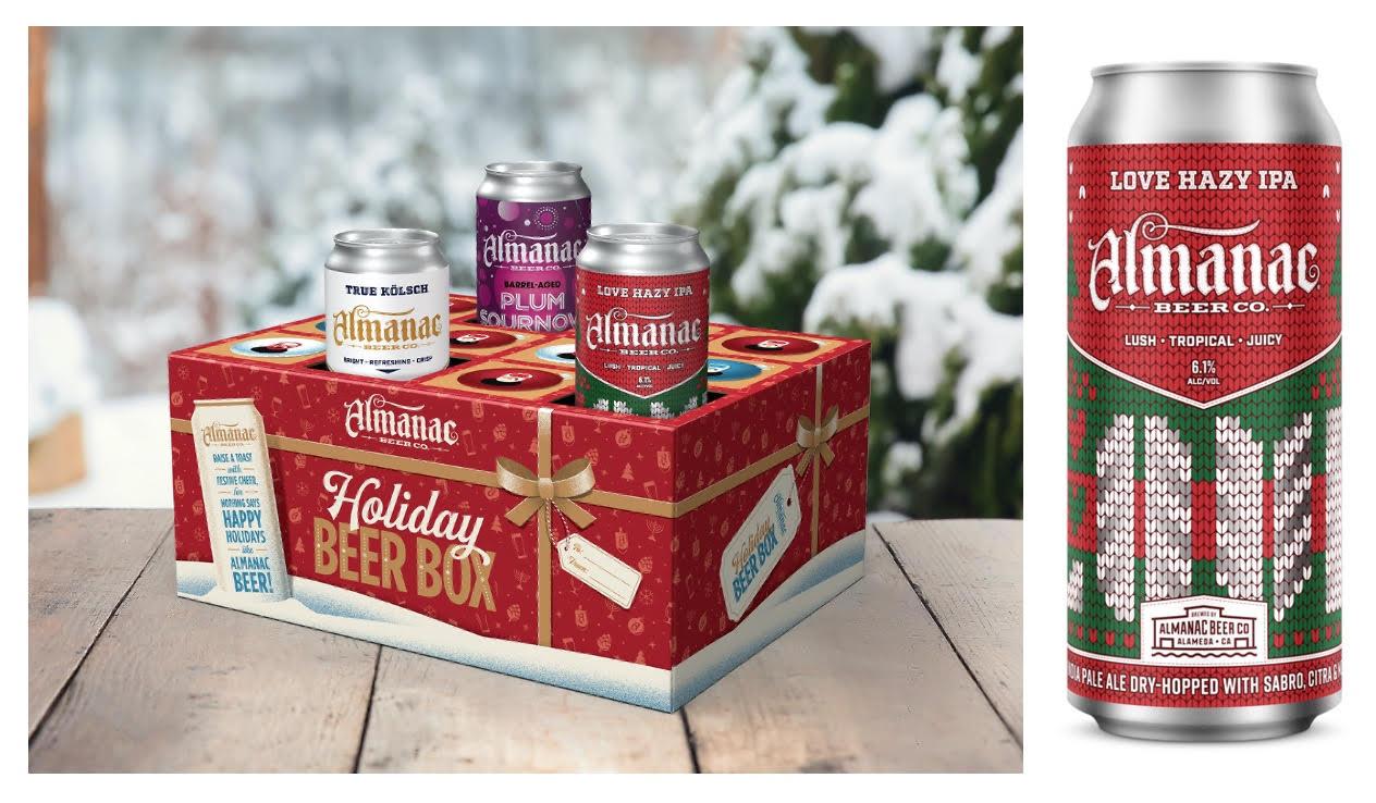 Almanac Beer Drop Holiday Beer Box for 2021 Holidays thumbnail