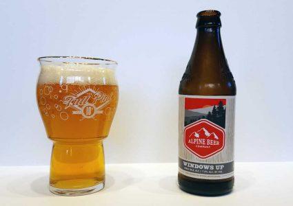 Alpine Beer Windows Up