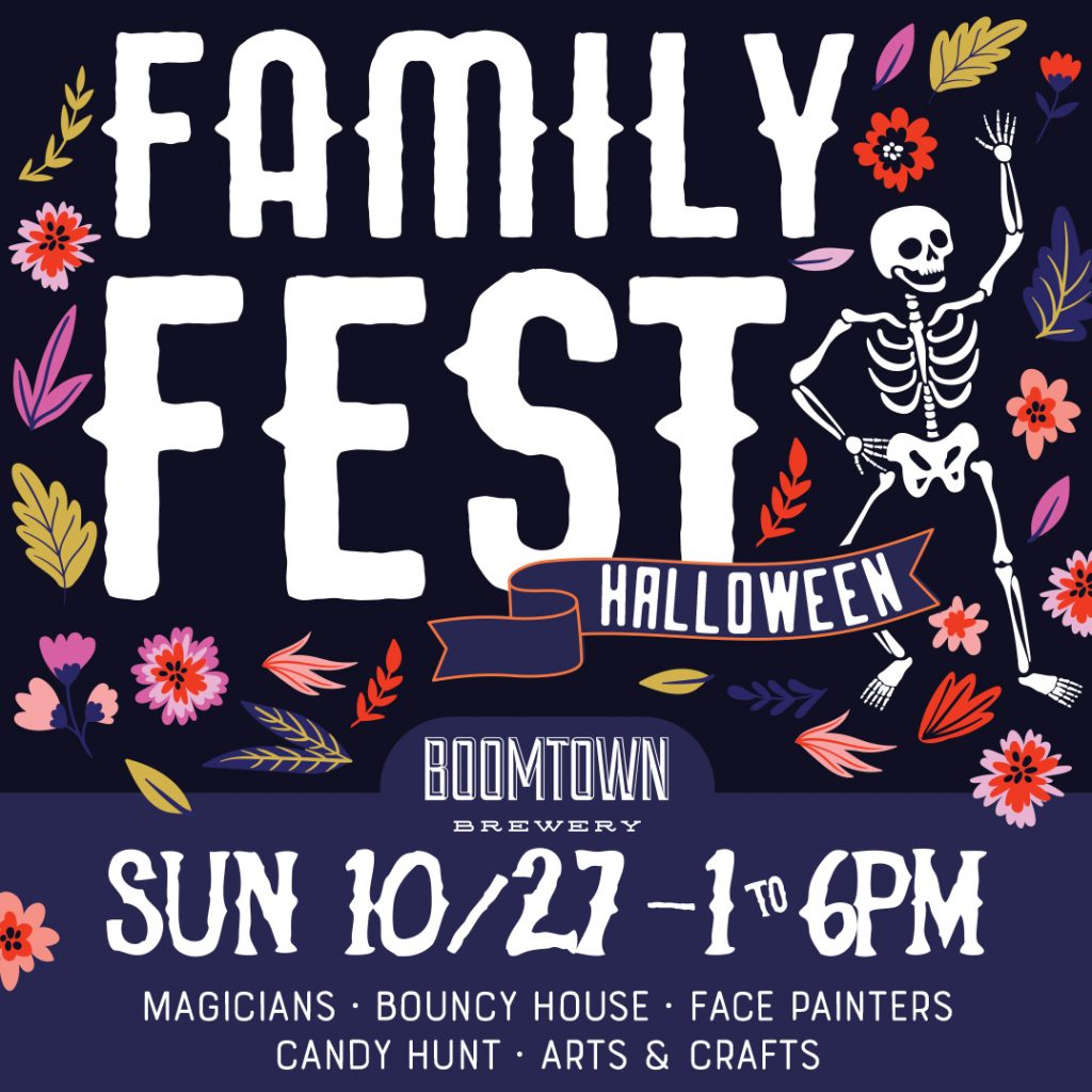 Boomtown Brewery - Halloween Family Fest