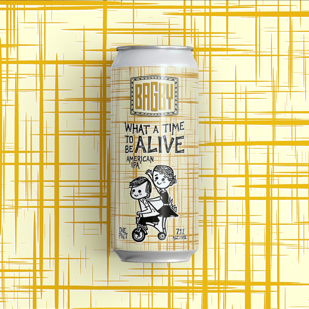 Bagby Beer - What A Time To Be Alive (cans)