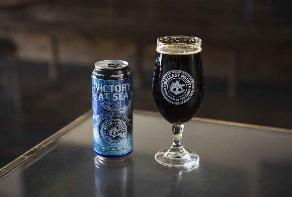 Ballast Point Brewing Victory at Sea Returns in 16 oz. Cans thumbnail
