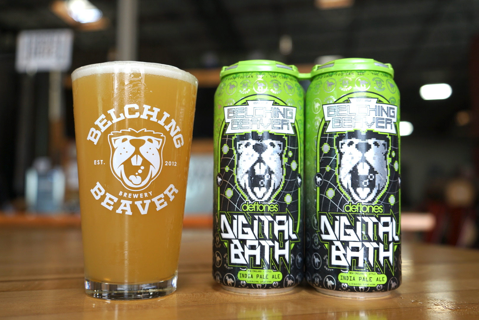 Digital Bath Will Probably Be Our Fourth Beer Brewed With The Deftones Crew  And We Couldnu0027t Be More Excited.