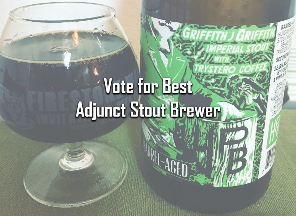 Best Adjunct Stout Brewer