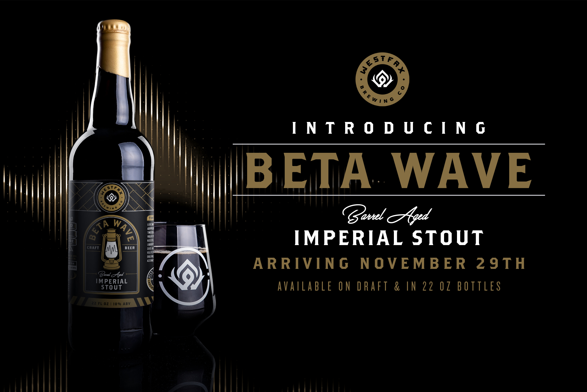 Westfax Brewing - Beta Wave Imperial Stout