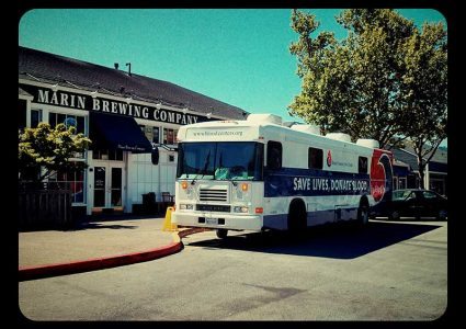 Marin Brewing - Give a Pint, Get a Pizza Blood Drive